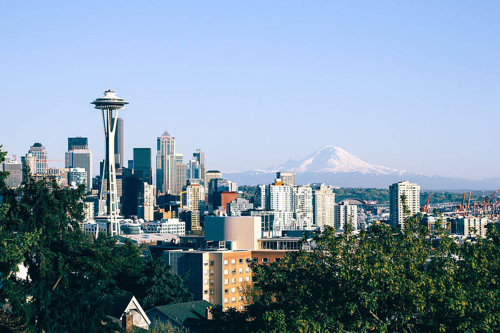 Seattle Skyline - compressed